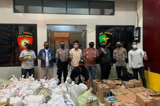 Polda Malut menggagalkan penyelundupan 2 ton minuman keras Cap Tikus