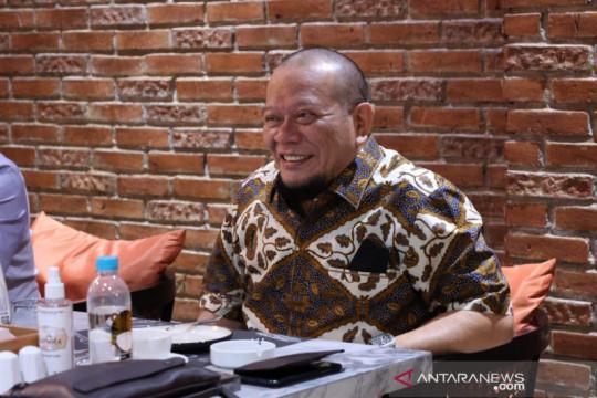 Ketua DPD RI LaNyalla apresiasi serapan dana PEN di Yogyakarta