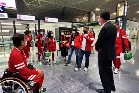 KBRI Tokyo lepas kepulangan kloter 2 kontingen Paralimpiade Indonesia