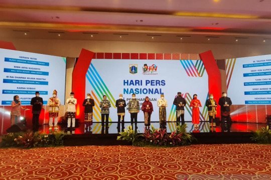 PWI apresiasi pejabat daerah melalui Anugerah Kebudayaan PWI