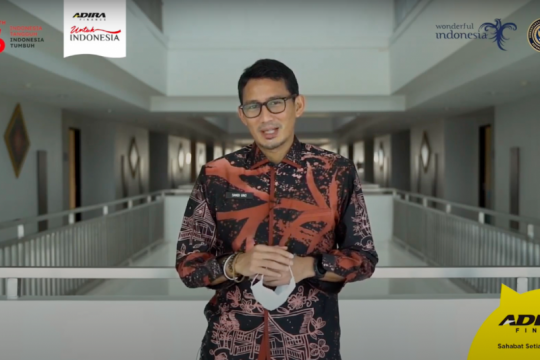 Kemenparekraf - Adira Finance adakan Festivasl Kreatif Lokal 2021