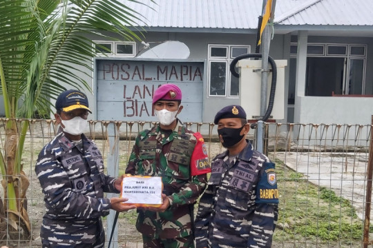 Guspurla Koarmada III salurkan bantuan untuk prajurit pulau terluar