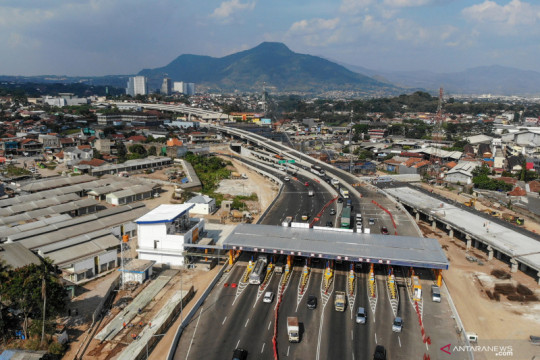 Jasa Marga mulai operasionalkan gerbang tol Simpang Susun Cileunyi