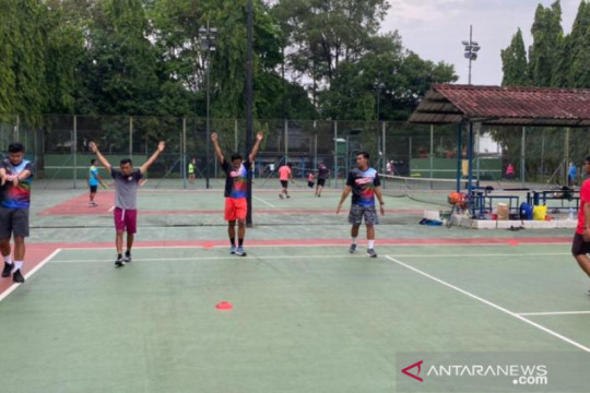 PT Timah bantu operasional pelatda atlet tenis Babel jelang PON Papua