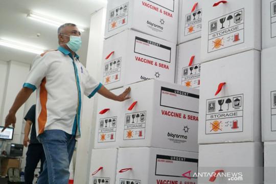 Bio Farma telah distribusikan 129 juta dosis vaksin