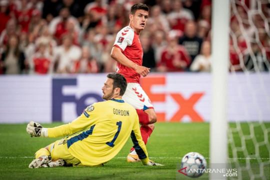 Denmark lanjutkan catatan sapu bersih kualifikasi Piala Dunia