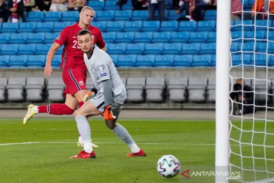 Haaland cetak gol di kualifikasi Piala Dunia, Norwegia imbangi Belanda
