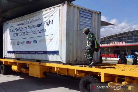 Generator oksigen bantuan TNI telah diterima Pemkab Jayawijaya