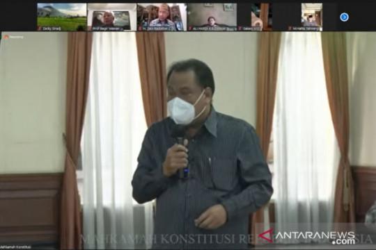 Hakim MK sebut penting bangun sistem hukum yang berkarakter Pancasila
