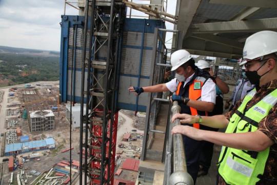 Bukit Asam targetkan PLTU Sumsel-8 beroperasi kuartal I 2022