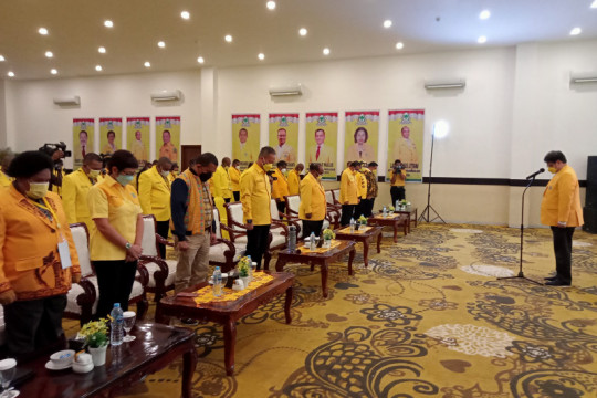 Airlangga Hartarto apresiasi penanganan COVID-19 di Kota Sorong