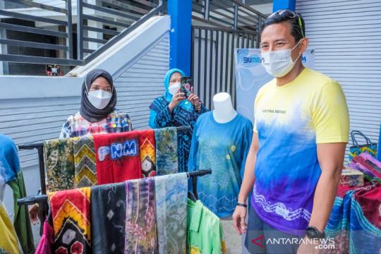 Menperekraf optimis kain sasirangan mampu bangkitkan ekonomi Kalsel