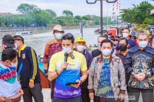 Menparekraf dorong Pengembangan wisata sungai di Banjarmasin