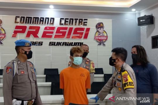 Polres Sukabumi ungkap motif pemuda nekat begal penarik ojek