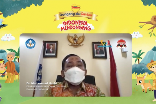 Cerita rakyat bantu anak berkenalan dengan kebudayaan Indonesia