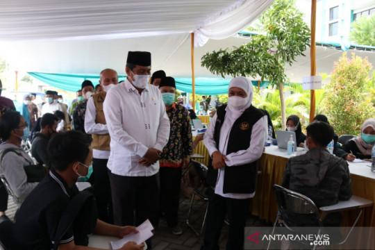 Gubernur Jatim pantau vaksinasi pelajar dan mahasiswa di Jember