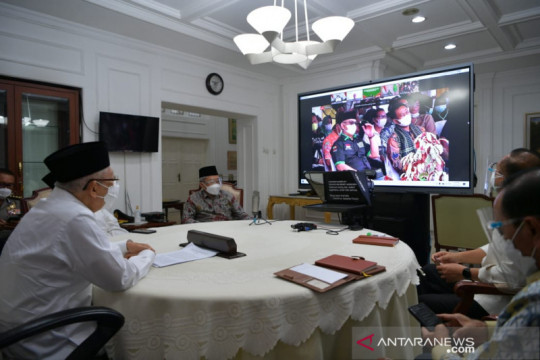 Wapres saksikan panen perdana Peremajaan Sawit Rakyat Riau