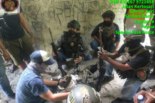 Satgas Nemangkawi tangkap buronan KKB penyedia senjata api