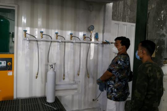 Gereja di Bali buka pengisian tabung oksigen medis secara gratis