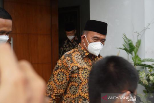 Muhadjir Effendy temui Syafii Maarif di Yogyakarta