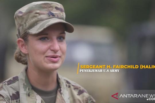 Prajurit US Army mengaku suka bahasa dan budaya Indonesia