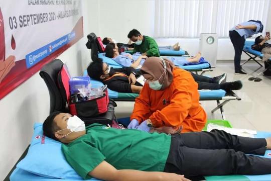 Rayakan HUT ke-3, RSUD Cipayung gelar donor darah