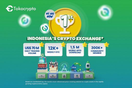 "Tokocrypto puncaki ""top exchange"" Indonesia"