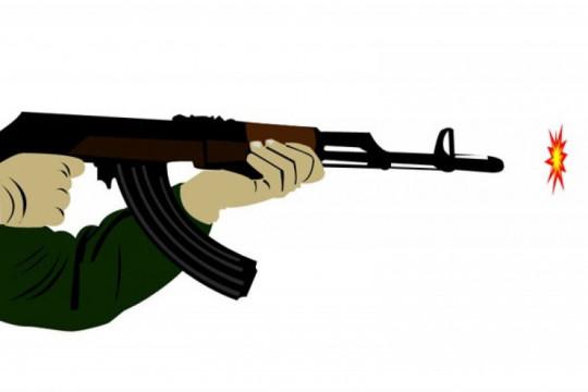 Dua terduga kelompok bersenjata beserta tiga senjata api ditangkap