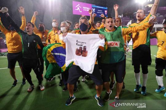 Brasil sabet medali emas Sepak Bola Putra Paralimpiade Tokyo 2020