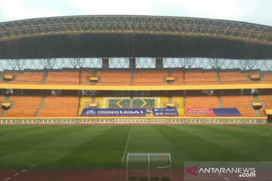 Polisi antisipasi kedatangan suporter di Stadion Wibawa Mukti