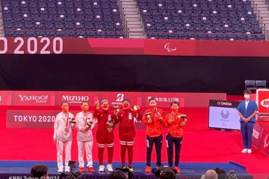 Dubes RI apresiasi kerja keras NPC Indonesia atas raihan emas di Tokyo