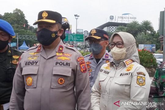 Polisi kaji perluasan ganjil-genap Puncak hingga perbatasan Cianjur