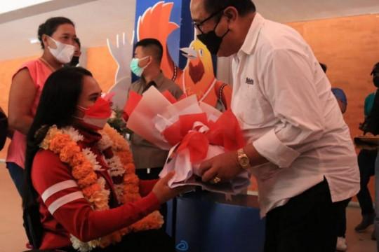 Wagub Bali sambut kedatangan atlet peraih medali Paralimpiade Tokyo