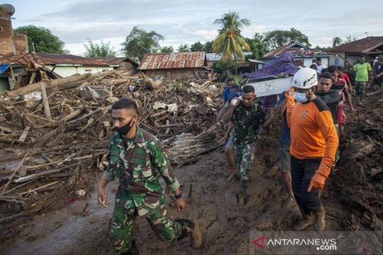 1.805 bencana alam melanda Indonesia pada Januari-Agustus 2021