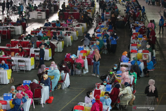 38,22 juta warga Indonesia sudah dapat vaksinasi COVID-19 dosis kedua