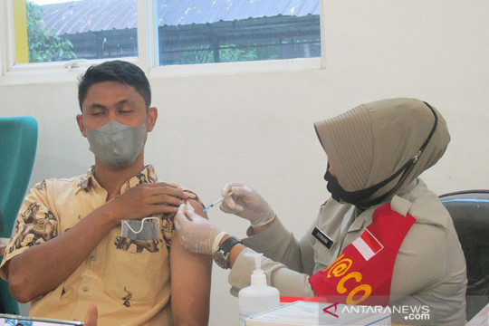 KONI Aceh: Vaksinasi atlet dan ofisial PON sudah 100 persen
