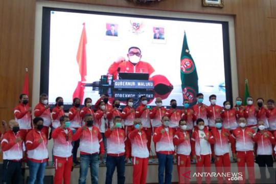 Gubernur lepas kontingen Maluku secara virtual