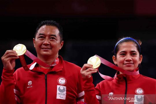 Hary/Leani sabet emas kedua bagi Indonesia di Paralimpiade Tokyo