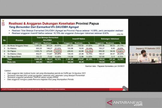 Menko Airlangga sebut Papua perlu percepatan realisasi anggaran