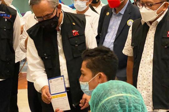 OJK gandeng Unair gelar vaksinasi 10 ribu dosis untuk mahasiswa