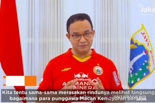 Jakarta kemarin, pesan Anies untuk Jakmania hingga pembangunan Jakarta