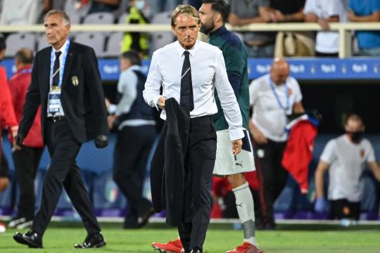 Mancini sebut Italia kerap membuang peluang  saat imbang melawan Swiss