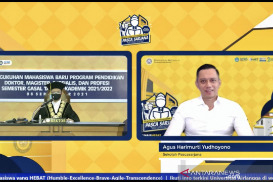 AHY lanjutkan S3 di Universitas Airlangga ambil studi pengembangan SDM