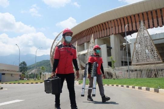 PT Telkom siapkan 891 titik WiFi gratis di arena PON Papua