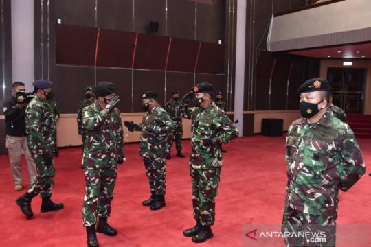 25 Perwira Tinggi TNI naik pangkat