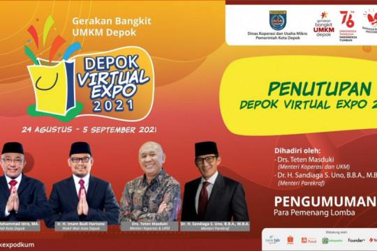 Menkop UKM apresiasi gelaran Depok Virtual Expo
