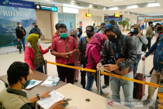 Belasan ribu PMI NTB pulang dari luar negeri karena habis masa kontrak