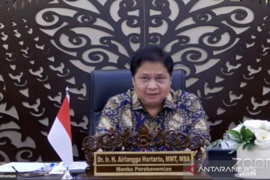 Airlangga: 23 kabupaten/kota di luar Jawa-Bali perpanjang PPKM Level 4