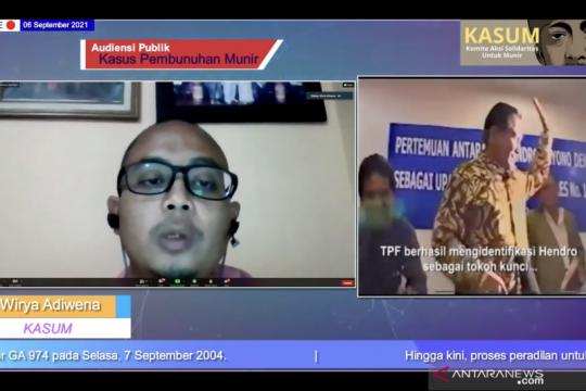 AI sebut penuntasan kasus Munir wujud komitmen Indonesia pada HAM