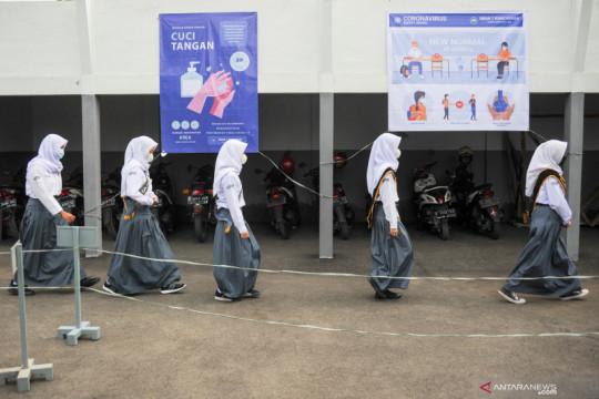 1.759 SMA, SMK, dan SLB di Jawa Barat lakukan pembelajaran tatap muka